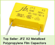 JFZ X2 Metallized Polypropylene Capacitors Hot Sale