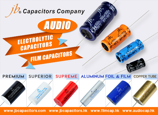 jb Capacitors-Audio capacitors with Highly Recommend