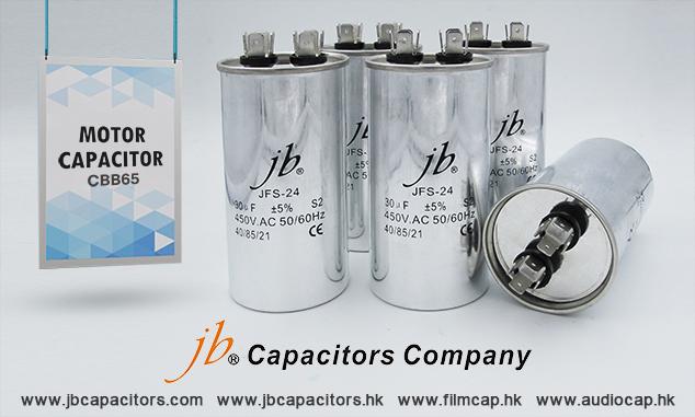 jb Capacitors-Motor capacitor CBB60, CBB61, CBB65