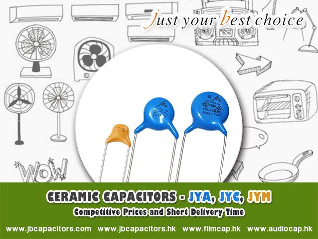 jb Capacitors manufactures Ceramic Capacitors