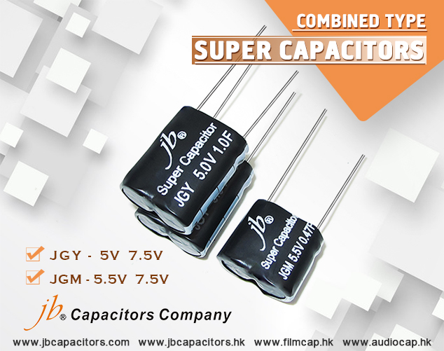 jb's Electric Double-layer Capacitors, JGM 5.5V 7.5V Combined Type Super Capacitors
