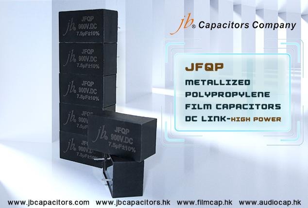 jb Metallized Polypropylene Film Capacitors DC Link-High Power--JFQP