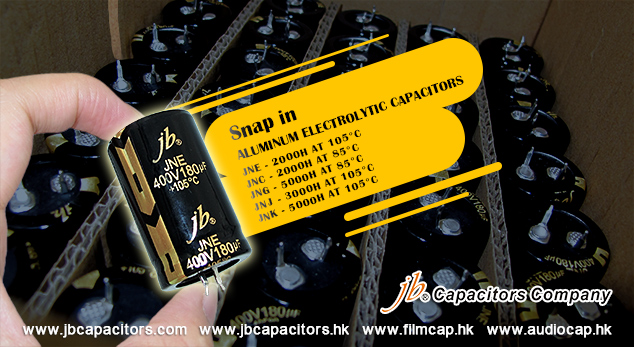 jb High Quality Snap in Aluminum Electrolytic Capacitors