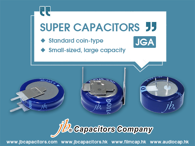 jb Offer One kind of High Capacity Capacitors- JGA Series Super Capacitors
