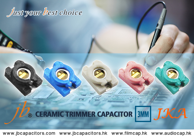 jb 3mm Surface Mount Trimmer JKA Capacitors as Alternative for EU,US