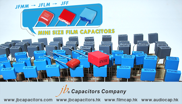 jb Capacitors Company Mini Size Film Capacitors--JFF, JFLM, JFMM