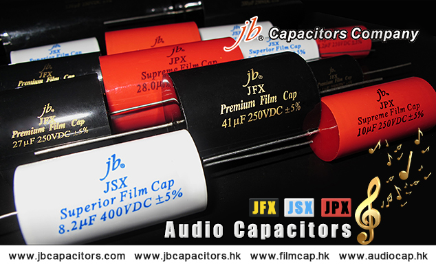 jb-The Best Offer for Audio capacitors, Premium Metallized Polypropylene Film Capacitors-Axial