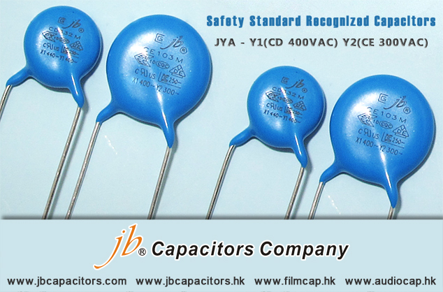 jb's Ceramic Capacitors-Safety Standard Recognized Capacitors