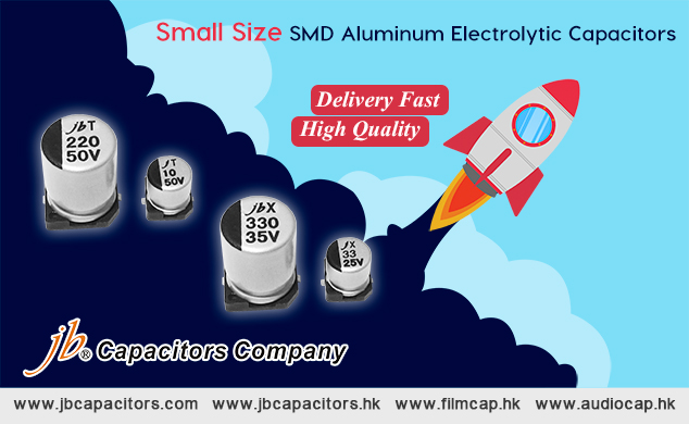 jb Capacitors Company Offer Small Size SMD Capacitors