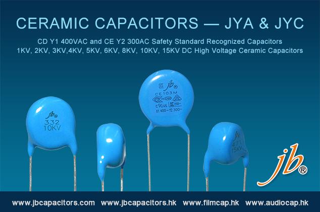 jb Offer Ceramic Capacitors—JYA &JYC