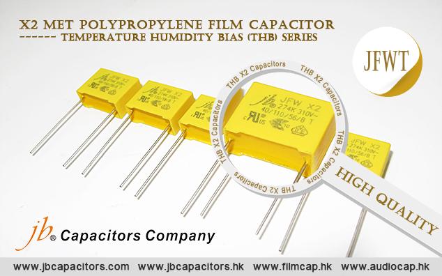 jb offers high quality THB X2 Capacitors—JFWT series