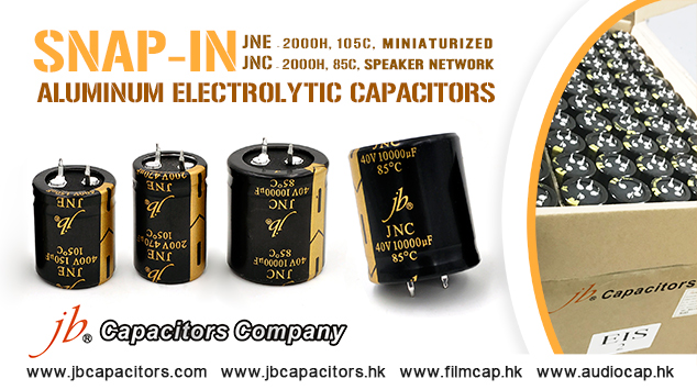 jb Strong Series Snap-in Type Aluminum Electrolytic Capacitors